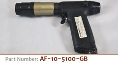Ingersoll Rand Push Button Cylindrical Body Pneumatic Tool w/Aero-Fast Head and Guide Bushing