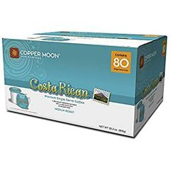 Copper Moon Costa Rican Premium Single Serve Coffee 80 Ct
