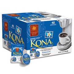 Copper Moon Kona Coffee 40 Count AromaCup Single Serve Coffee