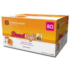 Copper Moon Donut Café Classic Blend 80 Ct Single Cup Coffee