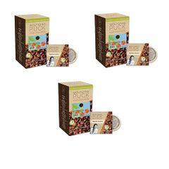 Wolfgang Puck Hawaiian Hazelnut Coffee Pods- 3 Boxes of 18 - 54 Pods