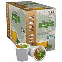 Caza Trail Green Tea Single Cup - 24 Count