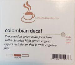 CoffeeAndSupplies Decaf Soft Pod - Box of 18