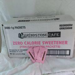"Grindstone Cafe Zero Calorie ""Pink"" Sweetener - 2,000 Ct Box"