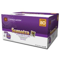 Copper Moon Sumatra 80 Count Box - Single Cup Coffee Pods