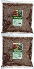 Mealworm Time® Dried Mealworms - 10 LBS / 2 Pack of 5 lb-resealable bag.