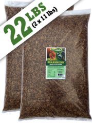 Mealworm Time®Dried Mealworms - 22 lbs