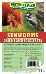 New -11 lbs bag-Sunworm/ Black Soldier Fly