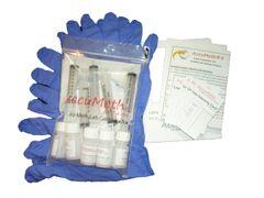 AccuMeth®5, 4-part Composite, Onsite Meth Test Kit, Pack of 5 - Sample 4 Areas for Meth, 0.1 ug/100cm2 target