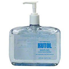 Kutol Santi-Gel Instant Hand Sanitizer - 16 oz. Pump Bottle