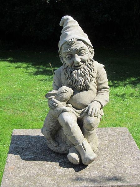 Gnome In Garden: Surrey Ornamental Stoneware