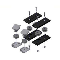 Vertical Flush TopTrack Pulley Cartridge Kit