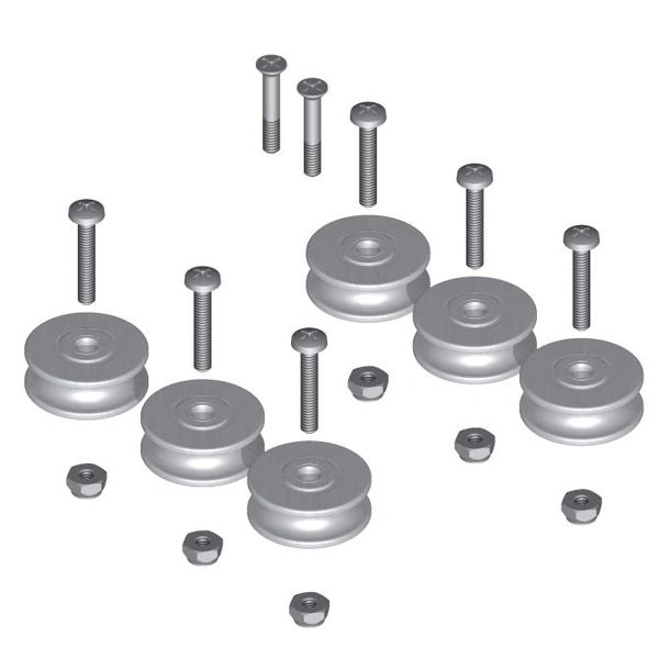 Double Row Bearing Pulley Replacement Kit