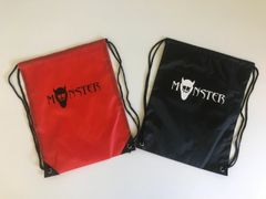 MONSTER DRAWSTRING BAG