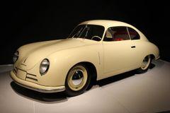 1949 Porsche Type 356 Gmund Coupe yellow
