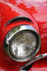 1955 Pontiac headlight