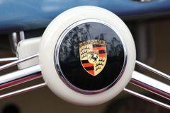 1956 Porsche Speedster steering wheel