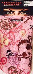 Pink Skully Rose Winter