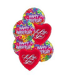 Anniversary Love Balloon Mix - plu18