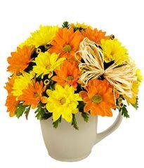 Daisy Mug Bouquet - fal10