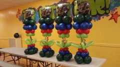 Centerpiece balloons table - bal12