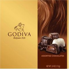 Godiva Assorted Chocolates Gift Box, 3.9 oz - can10