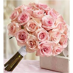 PINK ROSES BOUQUET - wed41