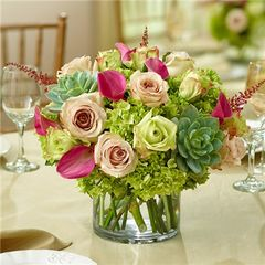 VINEYARD WEDDING CENTERPIECE - wed12