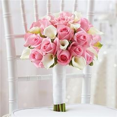 PINK BRIDAL BOUQUET - wed34