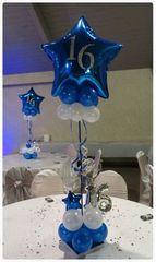 Centerpiece balloon table 16 & 15 - bal15