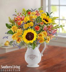 Fall Farmhouse Pitcher by Southern Living - tha09