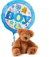 It's a Boy Bear and Balloon - new17