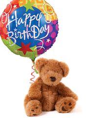 Happy Birthday Bear & Balloon - bir30