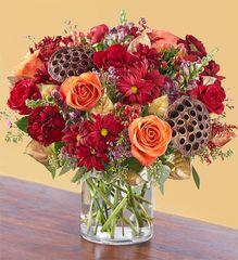 Vintage Autumn Blooms - tha08