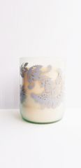 Upcycled Wine Jar Hand Poured Soy Candle (assorted colors)