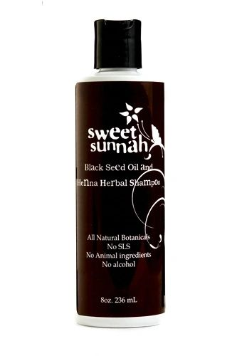 Natural Black Seed Henna Shampoo 8oz Relax Be Healthy