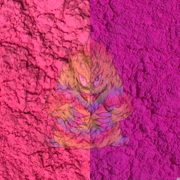 18290224b871 Solar Color Dust! - Hot Pink to Violet (UV   Sunlight Sensitive ...