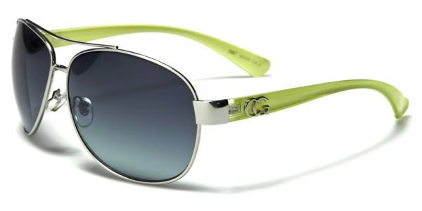38026 CG Eyewear Aviator Green