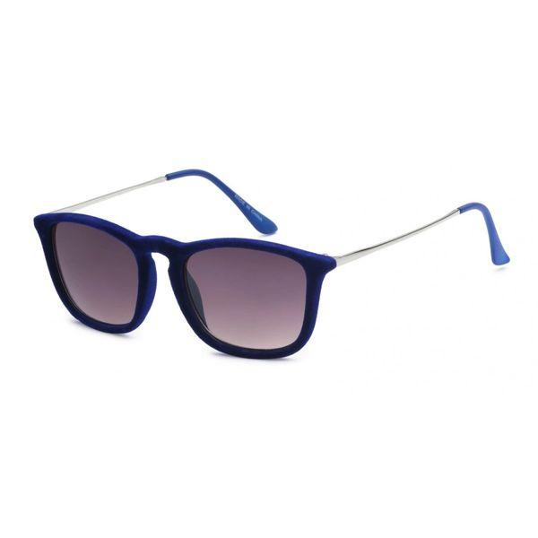1062 Fuzzy Velvet Retro Cobalt Blue