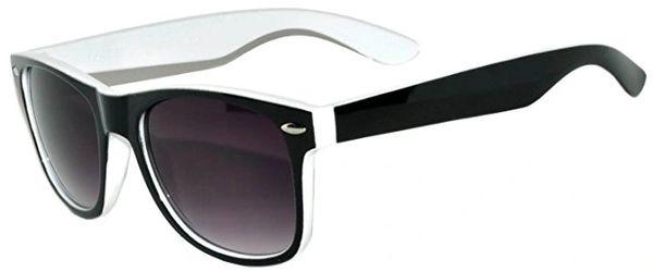 Retro Two-toned Black and White