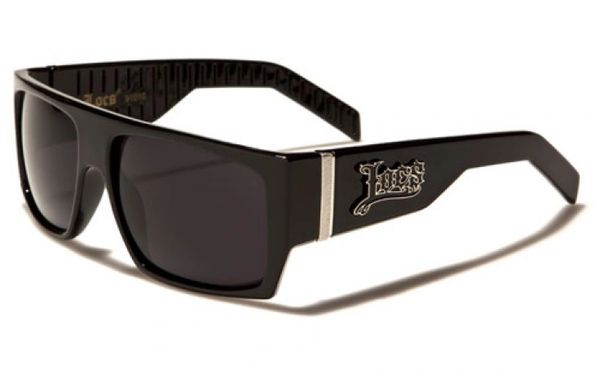 91010 Locs Flat Top Black