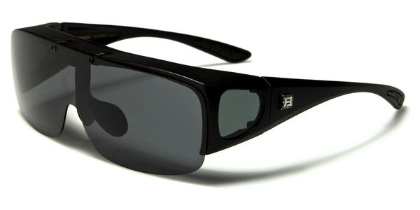 605 Barricade Fit-Over Black Smoke Lens