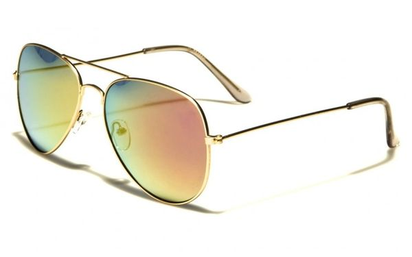 101 Aviator Gold Red
