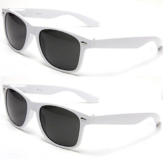Retro White – 2 Pair
