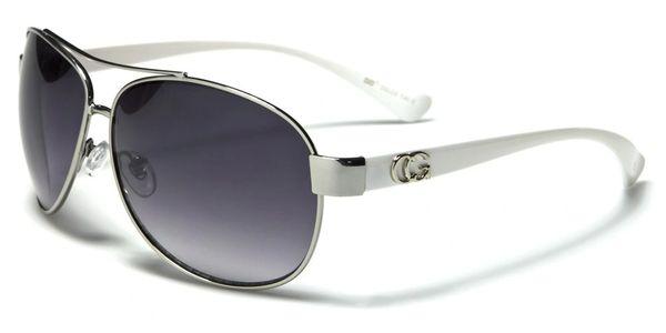 38026 CG Eyewear Aviator White