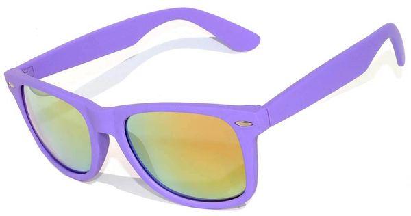 Retro Matte Finish Purple with ColoredLens