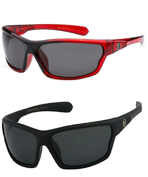 7032 Nitrogen Polarized 2 Pack Black Matte & Red