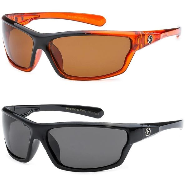 7032 Nitrogen Polarized 2 Pack Black & Orange