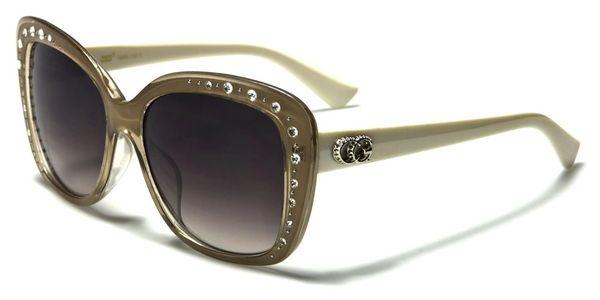 1809 CG Eyewear Rhinestone Beige