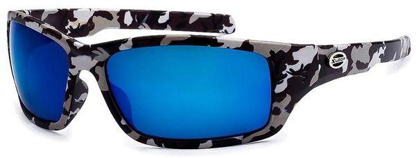 2450 XLoop Camo Grey Blue Lens
